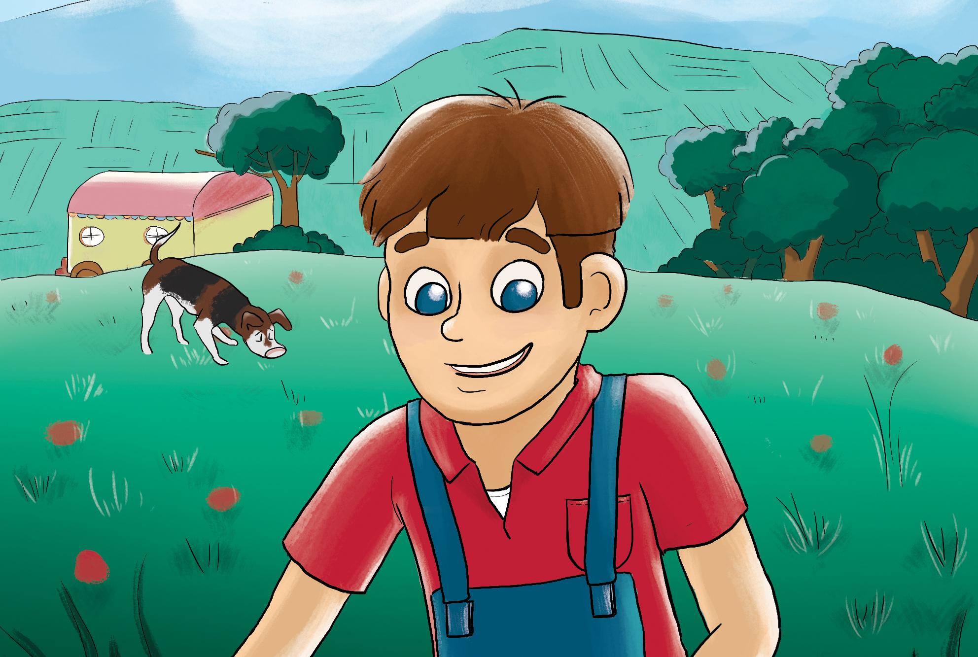 Illustrations – Gino et la chasse aux niglos